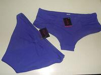 Bnwt La Senza 8 10 12 14 Bikini Shorts or Bow Back Briefs in Purple
