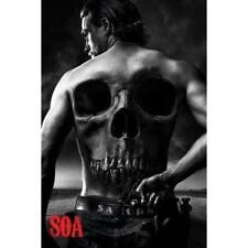 Sons of Anarchy Maxi Wall Poster SOA Jax Skull 61x91 cm