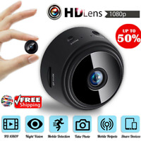 HD 1080P Wireless Mini Spy Camera Wifi IP Security Camcorder Night Vision DVR CA