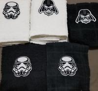 1 New Kitchen Crochet Top Towel #T1091 - #T1100 -- Embroidered Disney Star Wars