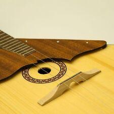 Wooden bridge with fret for Balalaika-Domra Original Balalayka Handmade - UK