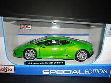 Maisto Lamborghini Huracan LP610 Green 1/24