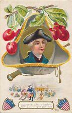Washington Suffered At Valley Forge Washington's Birthday Patriotic Postcard