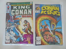 55x King Conan 1-55 complet Marvel US bd état 1