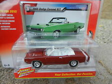 2016 Johnny Lightning *MUSCLE CARS USA R1B* Red 1969 Dodge Coronet R/T *NIP!*