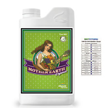Advanced Nutrients Mother Earth Super Tea 1 Liter Organic OIM GotHydro Chart