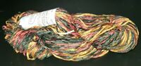 SKEIN/HANK OF NEWTON COUNTRY HAND PAINTED CHENILLE YARN - MULTI-COLOR