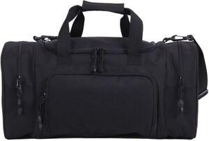 "Black Carry Travel On Sport Duffle Gym Bag 21"""