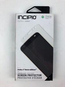 Incipio Plex Plus Shield Series Tempered Glass for Moto Z2 Force - Clear