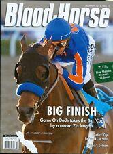 2013 The Blood-Horse Magazine #10: Game on Dude Wins Santa Anita Handicap