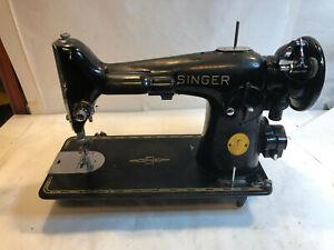 VINTAGE SINGER SEWING MACHINE 1948 Model 201 SN# AH 963201