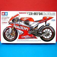 Tamiya 1/12 Yamaha YZR-01 '04 No7/No33 [cartograf decal] model kit #14100