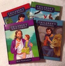 Children's Bible Stories/New Testament (Set Of 4) Religious/Educational