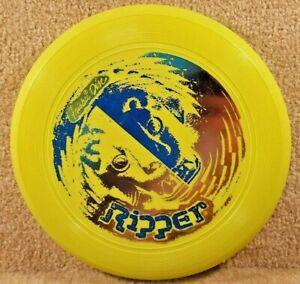 Vintage 1980 Original Kransco Wham-O Frisbee Disc Yellow 128 Gram Ripper
