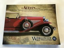 Worldwide Auction Car Catalog Auburn Indiana 2010 Corvette Indy 500 Race Ford