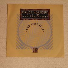 "BRUCE HORNSBY - THE WAY IT IS - SINGLE 7""-  SAMMLUNGSAUFLÖSUNG - TOP !"