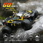 DEERC 1/18 Brushless RC Monster Truck 4WD Car High Speed Off Road + 2 Batteries