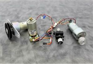 Lot of 4 Various Mini Motors most 24VDC with 90-Day Warranty