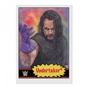 Topps WWE Living Set®  #3 THE UNDERTAKER  Brand New Mint Freepost