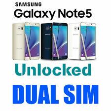 """Samsung Galaxy Note5 4G LTE 5.7"""" Dual Sim 32GB 64GB Unlocked 3 Months Warranty"""