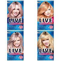 Schwarzkopf LIVE Lightener+Twist Permanente Tinte per Capelli Con Cura Olio 1AP