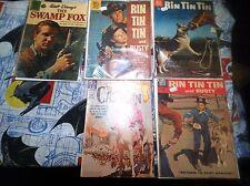 Rin Tin Tin #15 #25 #34  + The Castilian Walt Disney's The Swamp Fox #1179 L@@K!