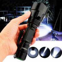 TORCIA TATTICA MILITARE LED T6 20000LM LUMENS BICI ZOOM LUCE RICARICABILE Torce