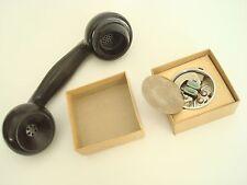 Antique Kellogg  telephone OLD STYLE handset Transmitter with diapragm NOS