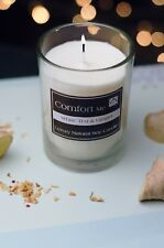 Candles Gift Set Luxury White Tea & Ginger Scented Soy Wax & Inspirational Quote