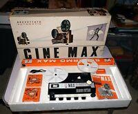 projecteur super 8 CINE MAX Italy K6 automatic Laurel Hardy Zorro vintage 1974