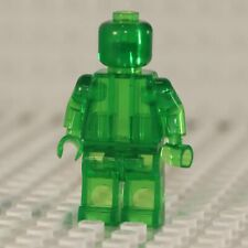 NEW Blank Transparent Green Minifigure Compatible with Lego