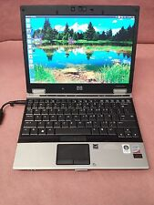 "HP EliteBook 2530P 12.1"" Core 2 Duo 1.60 GHz 2GB RAM 120GB HDD w/ Webcam Ubuntu"