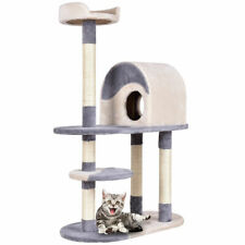"""New listing 48"""" Cat Tree Kitten Activity Tower Furniture Condo w Perches Scratching Posts"""