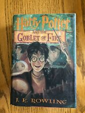 Harry Potter and the Goblet of Fire by J. K. Rowling First 1st Edition Hardcover