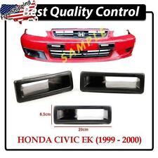 DD FRP Front Bumper Air Duct Vents ~ Honda Civic EK9 Hatchback Couple 96-00 Vtec