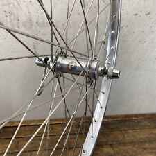 "26"" Front Wheel MTB Araya 7x 1.75"" Sealed Hub OLD SCHOOL BMX Factory Polish"