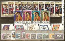 SAINTE HELENE TIMBRES NEUFS ** THEME RELIGION, CROIX, EGLISES ECT...