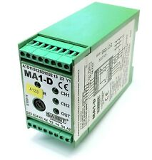 SAIET MA1-D E-STOP AND SAFETY GATE MODULE