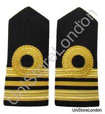 Épaulette Courbé Naval 1curl 2.5x2.5/10.2cm barre,1 x 1.3cm barres Lt Commandant