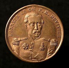 Frankreich, Medaille 1848, Ermordung General Duvivier