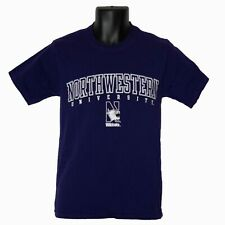 Mens Champion Northwestern University Wildcats Purple T-Shirt Size S Small