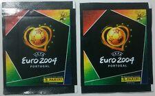 Panini euro 2004 X 2 Paquetes Sellado