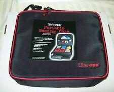 Ultra Pro Portable Zippered Gaming Case Magic Pokemon Yugioh 81127-2 Free Ship