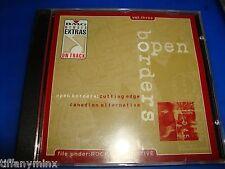 OPEN BORDERS cd econoline crush/bruce cockburn/ron sexsmith  free US shipping