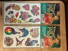Temporary Tattoos 2 Packages Waterproof Removable