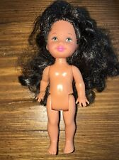 Barbie - Kelly Club Doll -Pajama Fun Maria - Rare Ooak Nude Hispanic Doll