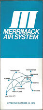 Merrimack Air System system timetable 10/15/76 [6091]