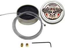 "60"" Emergency Throttle Cable Repair Kit W/Case For Harley Davidson Motorcycles"