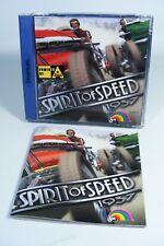 SPIRIT OF SPEED 1937 für Dreamcast Sega DC Spiel komplett mit Anleitung OVP