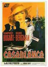Casablanca Movie Poster- Italian Artwork Nano -Unique At Ebay- Only $5.99